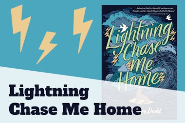 Lightning Chase Me Home blog header