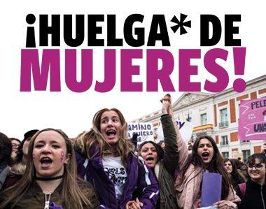 ¡Huelga de mujeres!