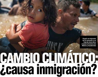 Cambio climático: ¿causa inmigración?
