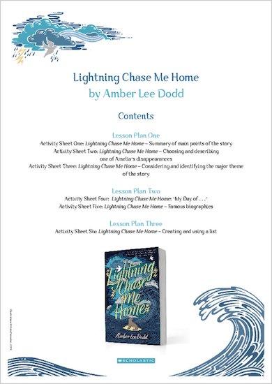 Lightning Chase Me Home teacher pack