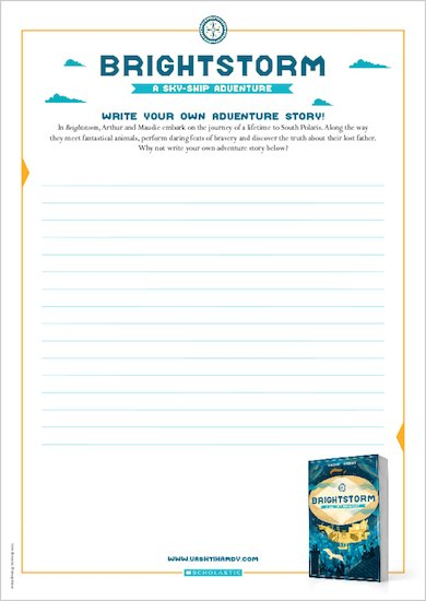 Brightstorm activity sheets