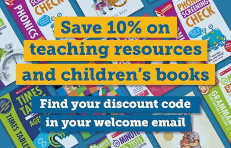 Resource Bank members save 10% on all teaching resources. Browse now