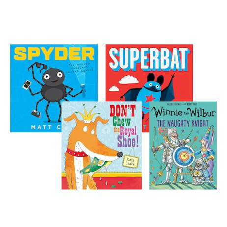 Funny Picture Books Pack x 4