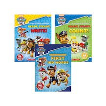 Paw Patrol Early Learning Pack x 3