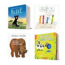 Board Books to Make You Think Pack x 4