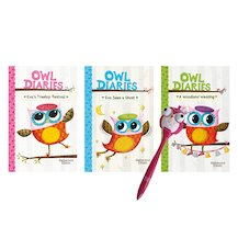 Owl Diaries Pack x 3