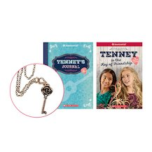 American Girl: Tenney's Journal with FREE Book and Necklace