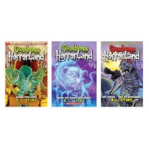 Goosebumps HorrorLand Pack x 3