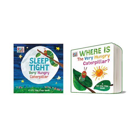 The Very Hungry Caterpillar Flip-Flap Pair