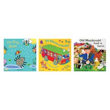 Books with Holes: Nursery Rhymes Pack x 3