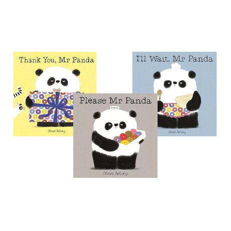 Learn Good Manners with Mr Panda Pack x 3