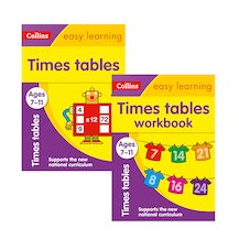 Collins Easy Learning: Times Tables Pair (Ages 7-11)