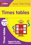 Collins Easy Learning: Times Tables (Ages 7-11)