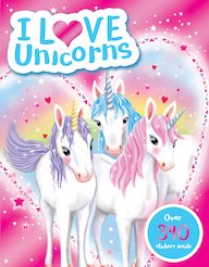 I Love Unicorns Activity Book