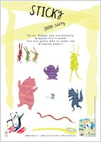 Activity sheets wrapped animals 1857225