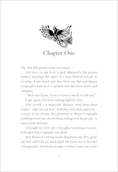 Scar: Ink trilogy #3 chapter sampler