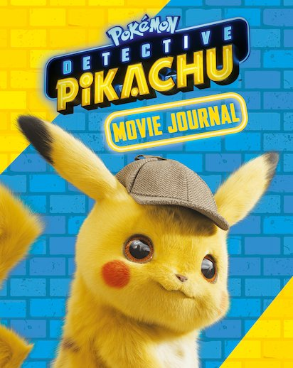 Pokemon Detective Pikachu Movie Journal Scholastic Shop