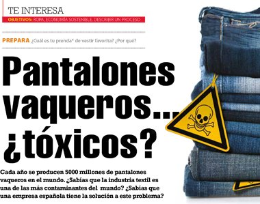 Pantalones vaqueros... ¿tóxicos?