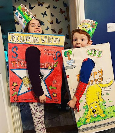 World Book Day book costume