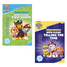 PAW Patrol Wipe-Clean Pair