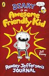 Diary of an Awesome Friendly Kid: Rowley Jefferson's Journal x 6