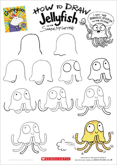 Grumpycorn - Draw Jellyfish