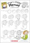Grumpycorn - Draw Mermaid (1 page)