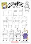 Grumpycorn - Draw Unicorn (1 page)