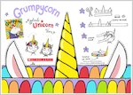Grumpycorn - Make your own magical unicorn horn (1 page)