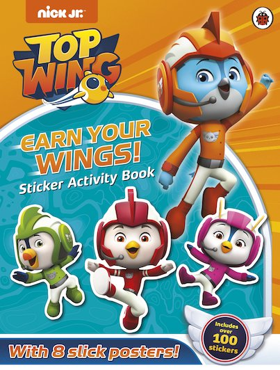 Top Wing: Earn Your Wings! Sticker Activity Book