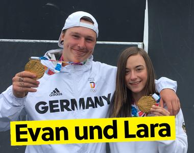 Das deutsche BMX-Duo im Interview
