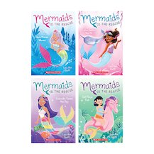 Mermaids to the Rescue Pack x 4