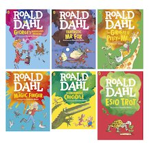 Roald Dahl Colour Editions Pack x 6