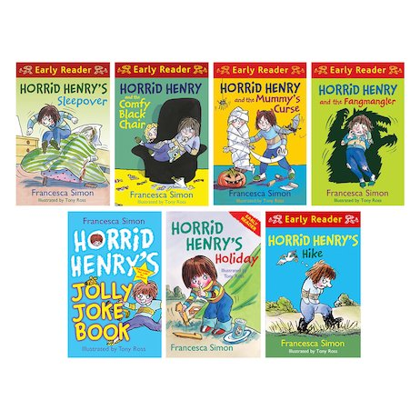 Horrid Henry Early Readers Pack with FREE Horrid Henry Joke