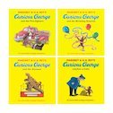Curious George Pack x 4