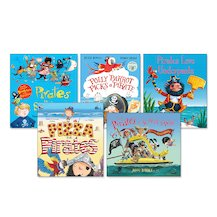 Pirate Picture Books Pack x 5