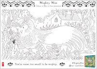 Mighty Min Colouring Activity - Owl