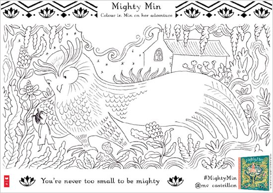 Mighty Min Colouring Pack
