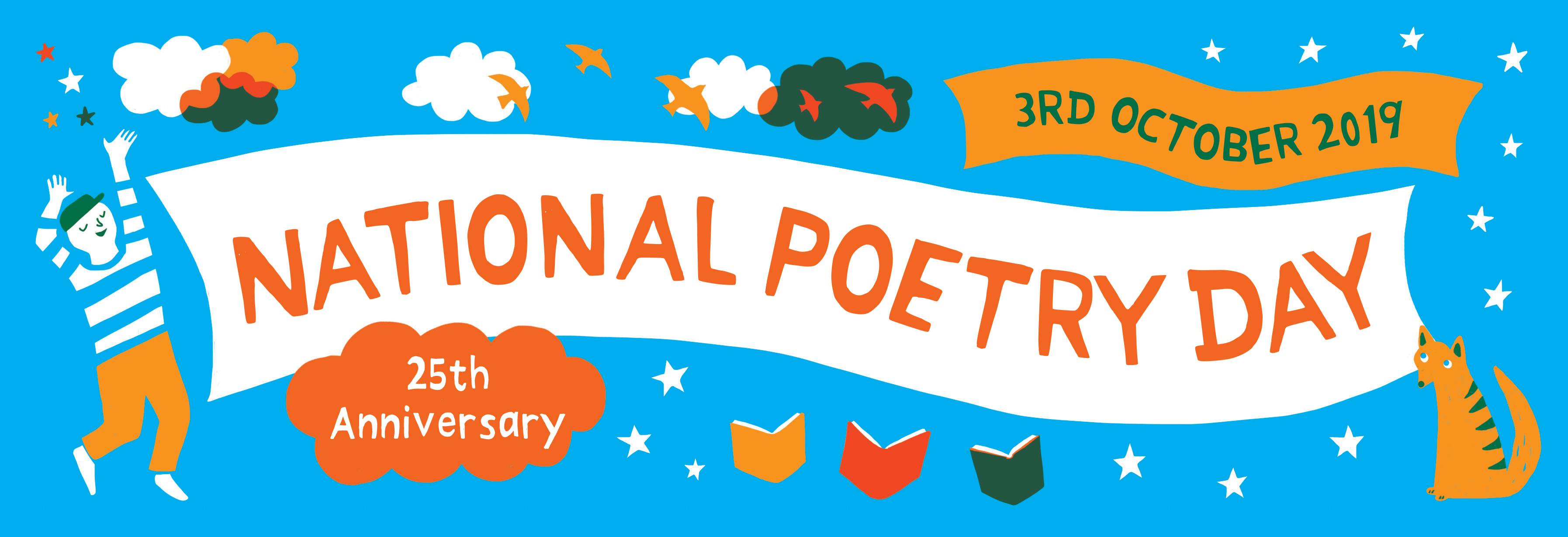 National Poetry Day 2019 - banner