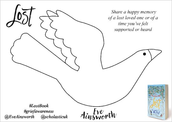 Lost by Eve Ainsworth memory bird activity