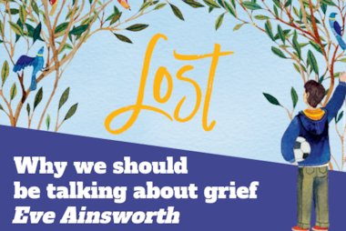 Why we should be talking about grief Eve Ainsworth blog header