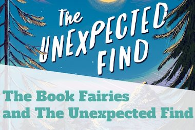 the unexpected find and the book fairies blog header
