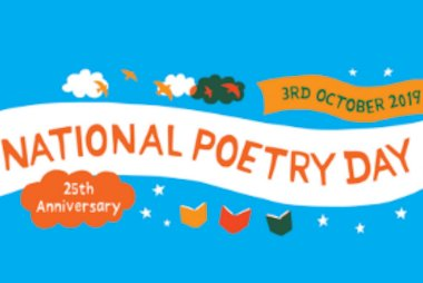 National Poetry Day 2019 - 3rd October 2019. 25th Anniversary