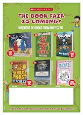 Poster - Scholastic Book Fairs Primary Autumn 2019