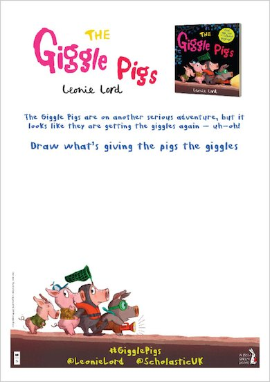 Giggle Pigs - Drawing Activity