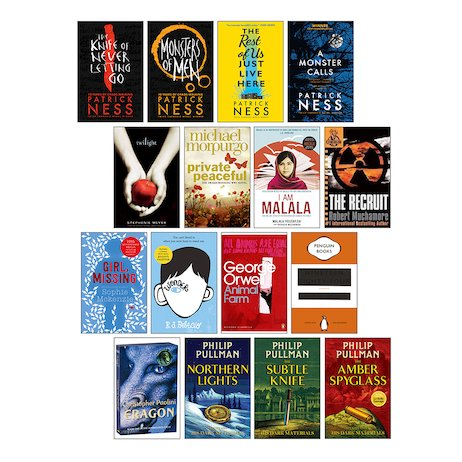 Top 100 Books For Teens Pack D X 16 Scholastic Shop