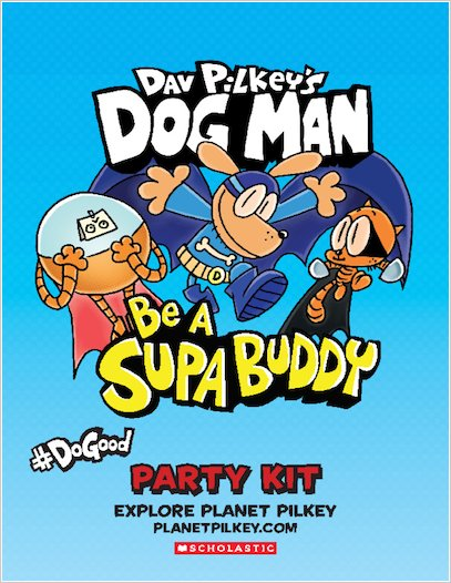 Be A Supa Buddy Party Kit activity sheets