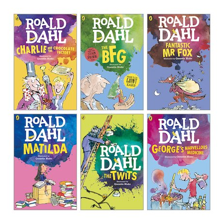 Roald Dahl Pack x 6 - Scholastic Shop