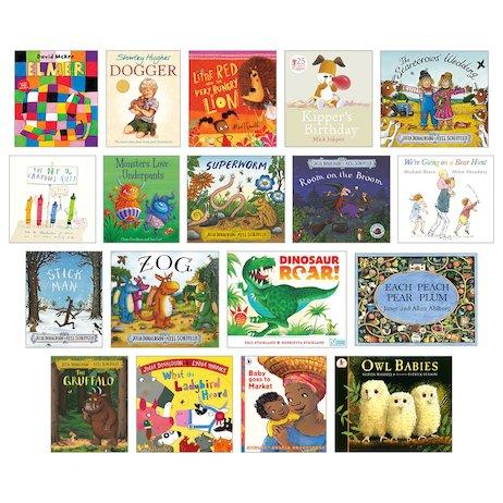 Top 100 Children's Books for Teachers Nursery-Reception Pack x 18 -  Scholastic Shop
