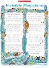 'Invisible magicians' poem